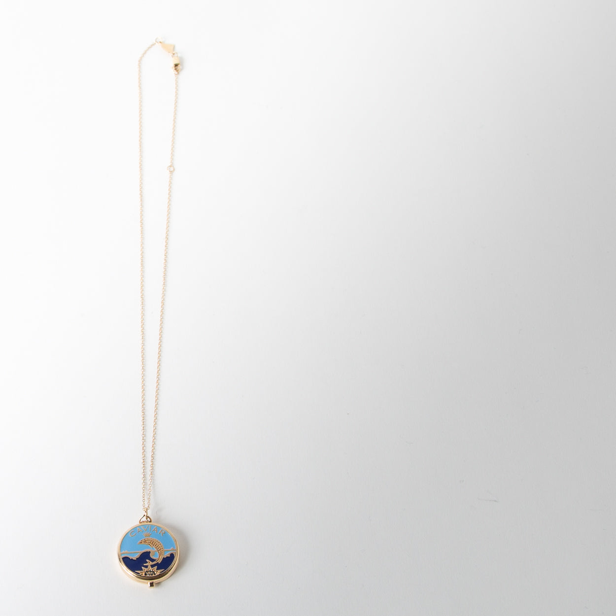 Caviar Pendant Necklace