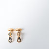 Zipper Cufflinks, gold