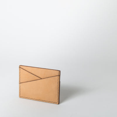 The Mayflower Card Holder, camel