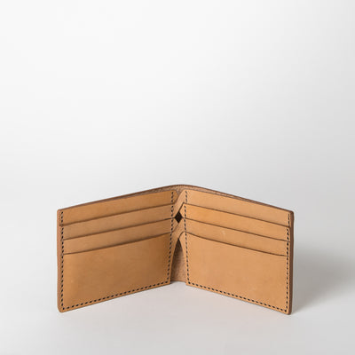 The Detour Wallet, camel