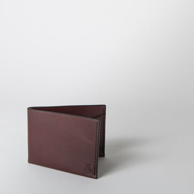 The Summerville Wallet, burgundy