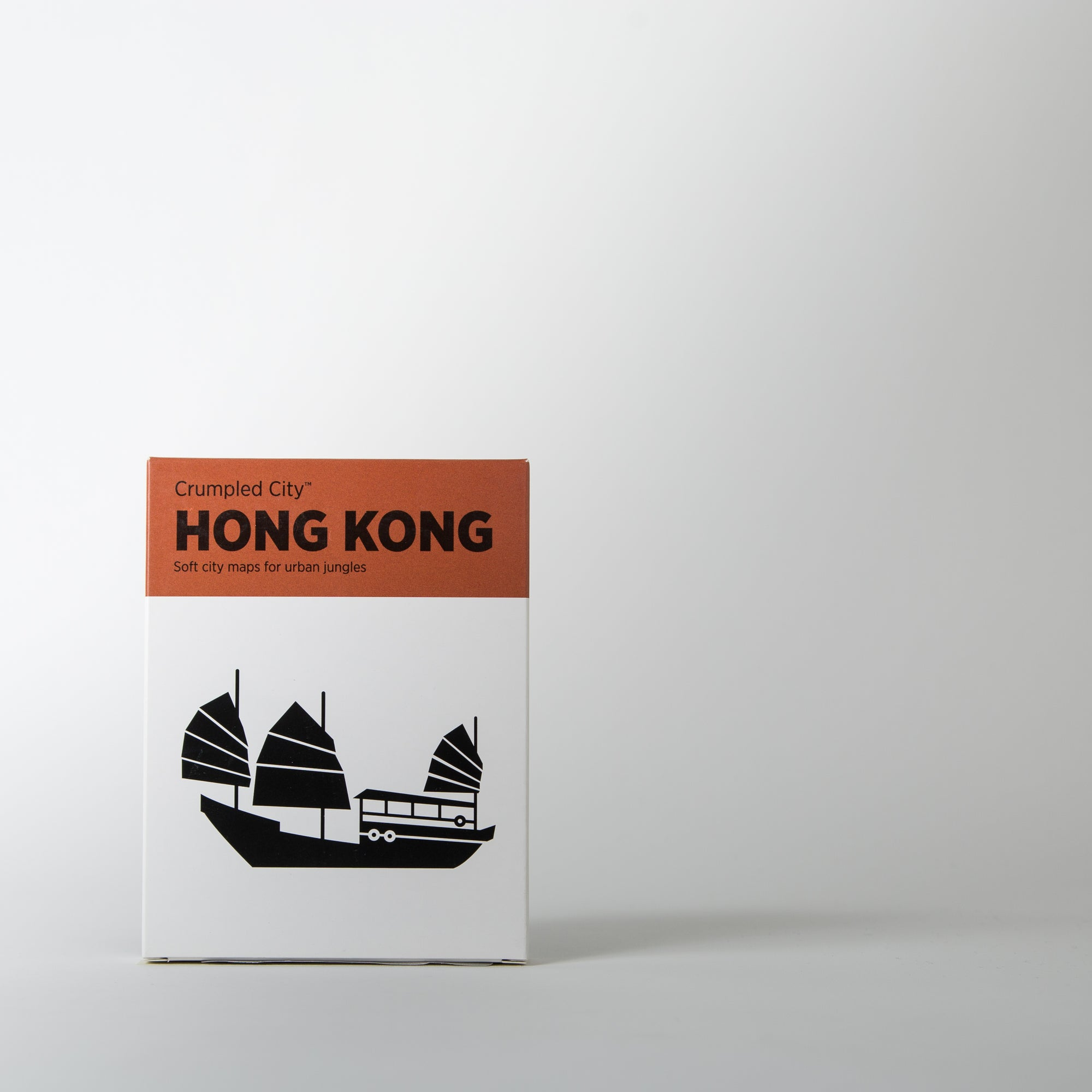 Crumpled City Map, Hong Kong