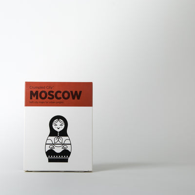 Crumpled City Map, Moscow