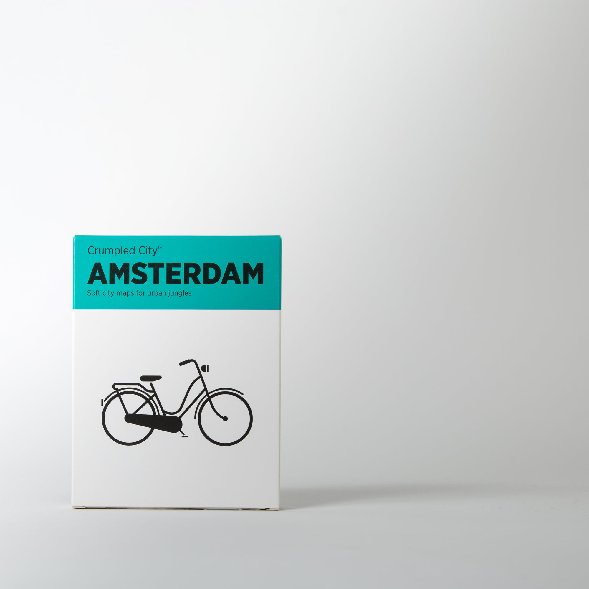 Crumpled City Map, Amsterdam