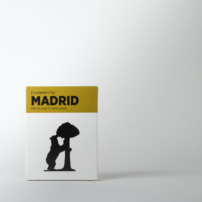 Crumpled City Map, Madrid