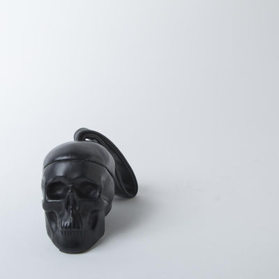 Vanity Leather Skull Box