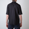 Button-Down Short Sleeve Shirt, black