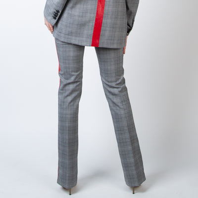 Checkered Stripe Pant