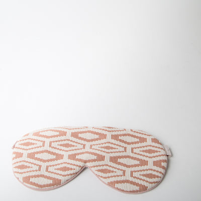 Sleep Mask - Blush Cotton