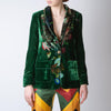 Kakia Floral Smoking Jacket