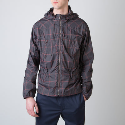 Checkered Anorak Jacket