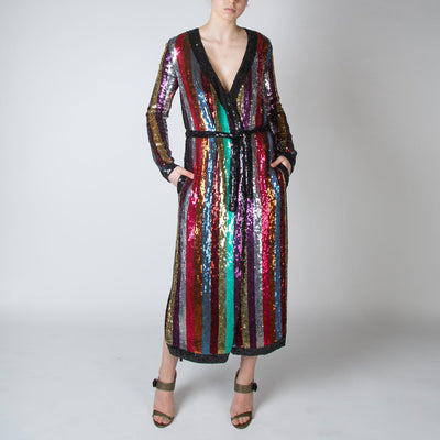 Grace Sequin Robe