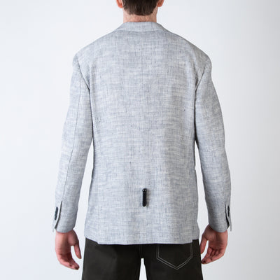 Grey Unstructured Sport Coat