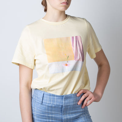 Billie T-Shirt, banana yellow