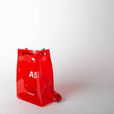 A5 Bag, red
