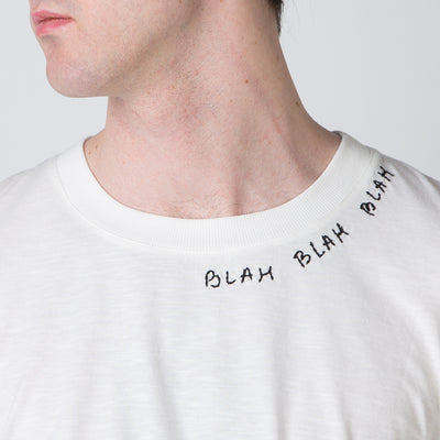 Blah Blah Blah T-shirt, white