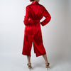 Red Silk Robe