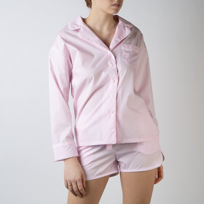 Sleeper Set with Shorts, power pink