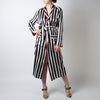 Striped Silk Robe