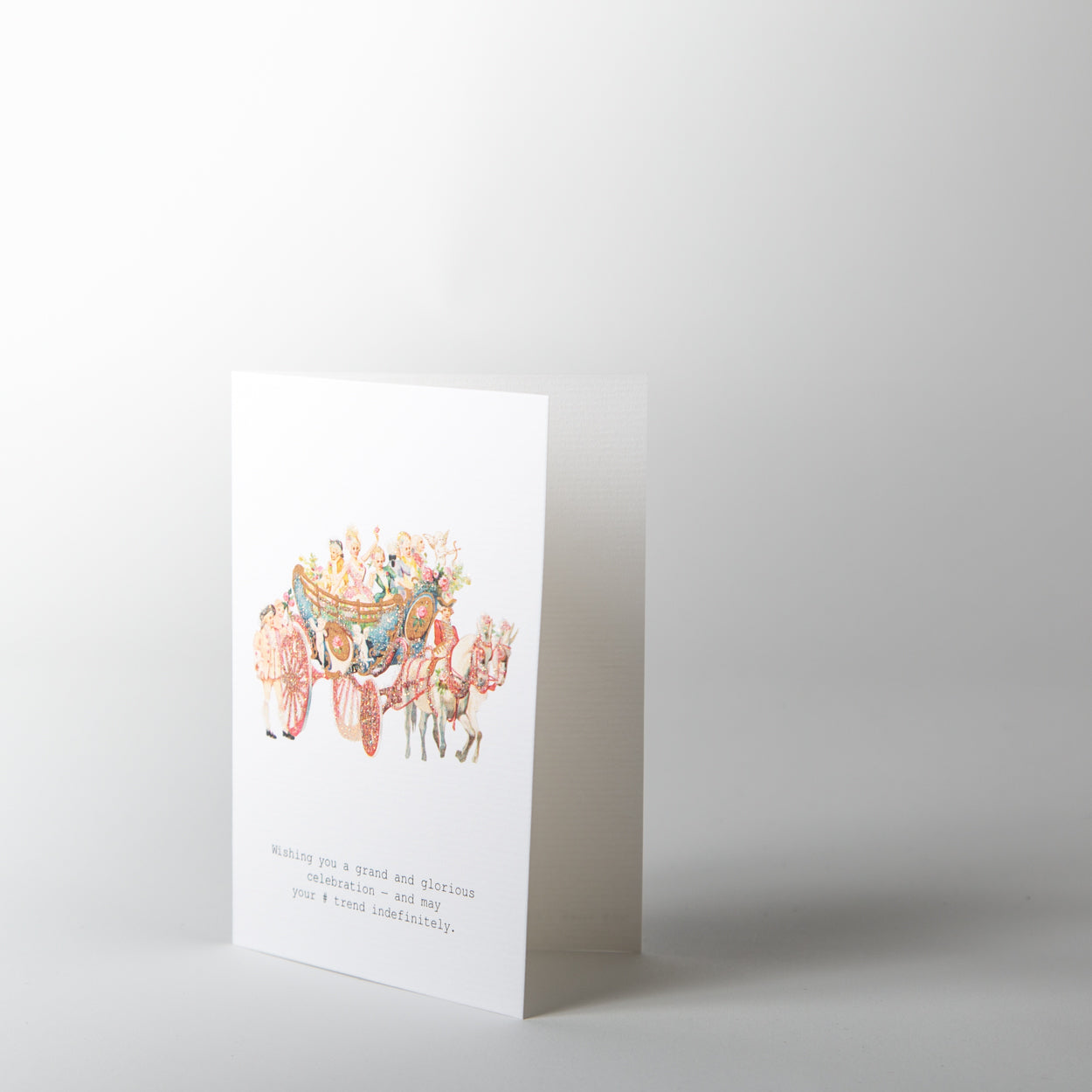 Hashtag Trend Greeting Card