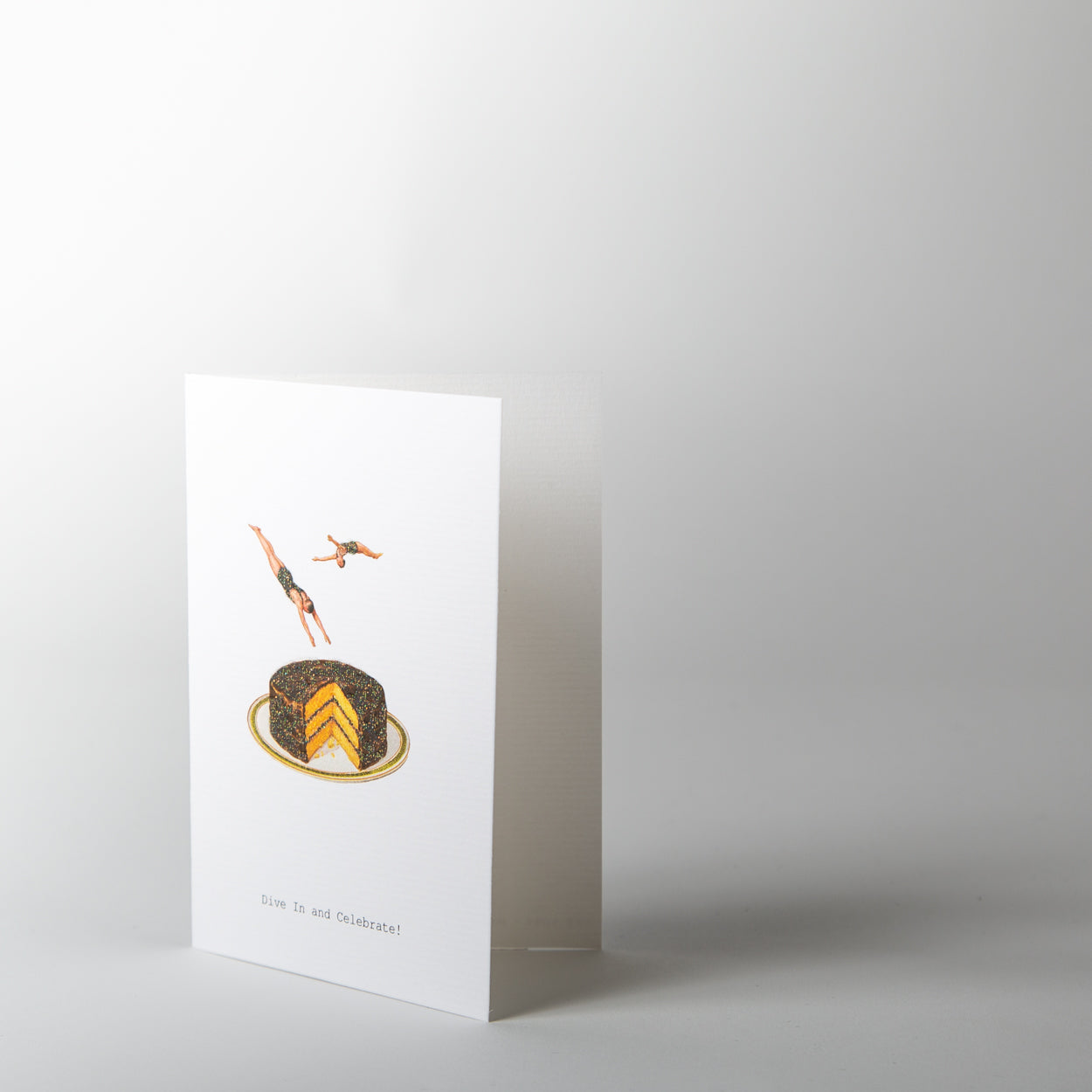 Dive In & Celebrate Greeting Card