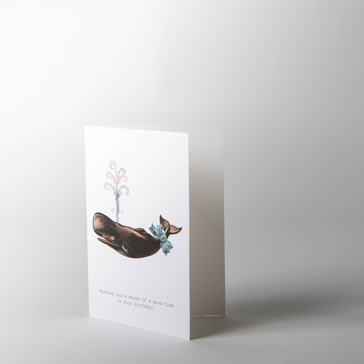 A Whale of a Good Time Greeting Card