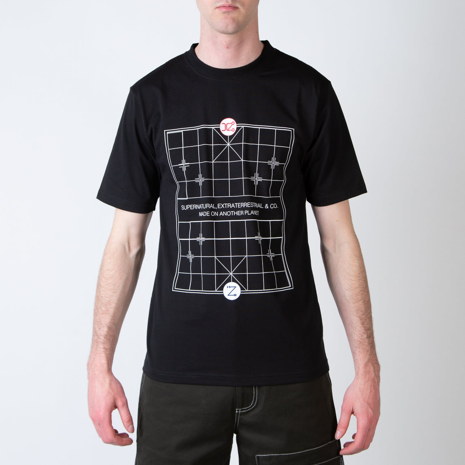 Chess Board Graphic T-shirt