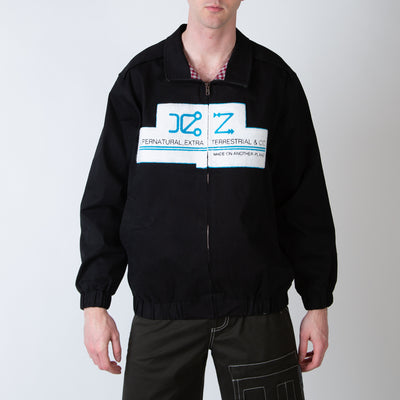 Zip Up Jacket with Embroidery Logo
