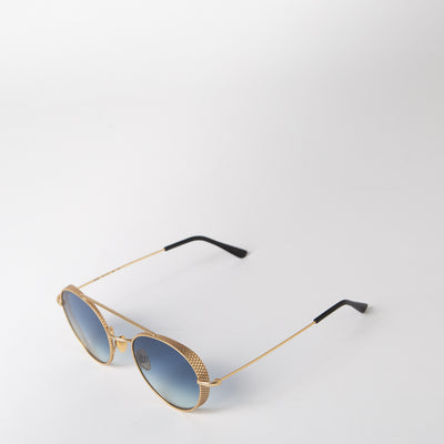 Amba Aviator, gold & blue