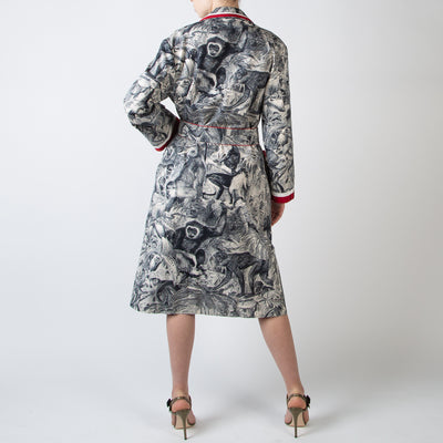 Andromaca Canvas Robe