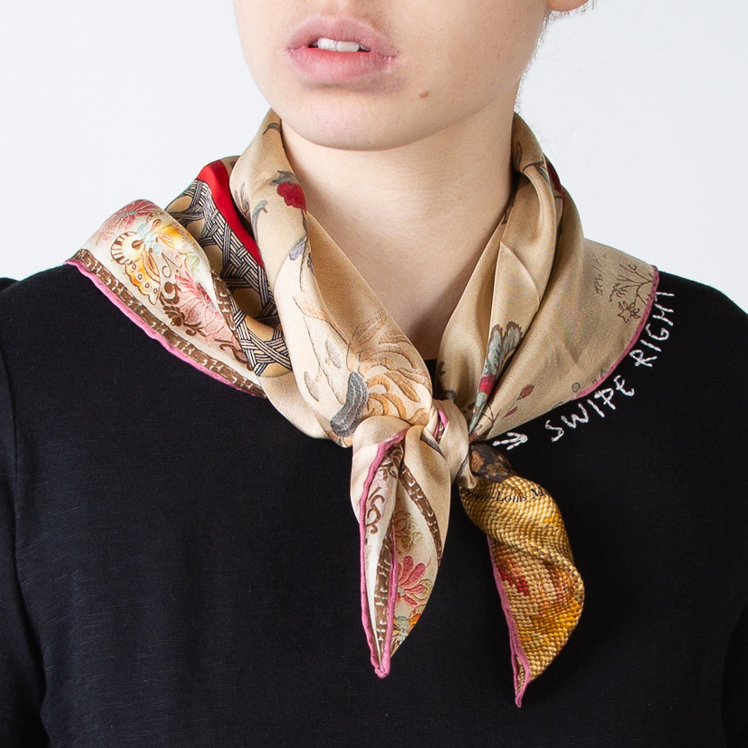 Mixed Floral Scarf
