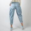Washed Denim 5 Pocket Cavalier Pants