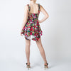 Spotted Floral Cady Mini Dress