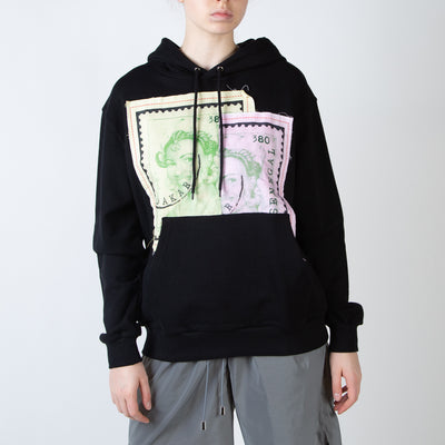Patches Hoodie, black