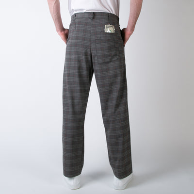 Paolo Plaid Money Trousers