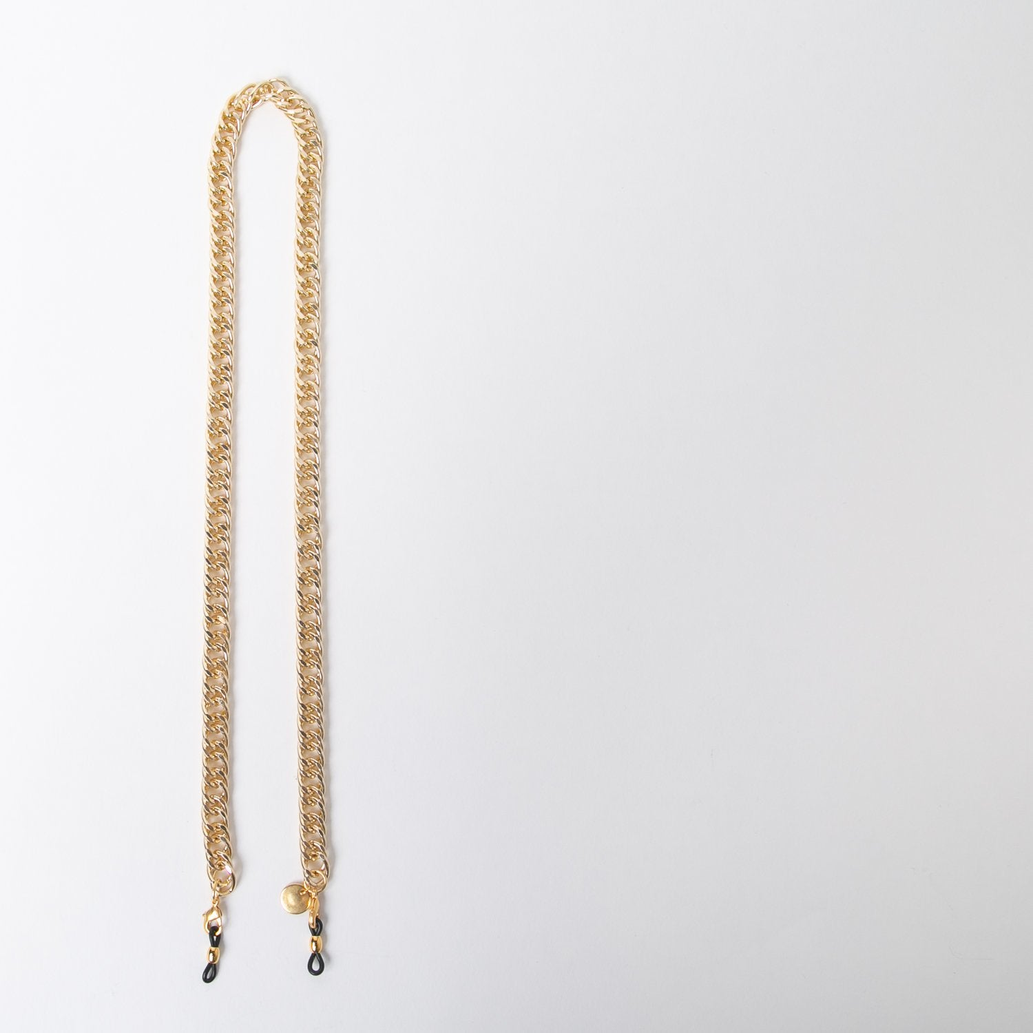 eyewear accessory in thick gold chain by SpecSet at Secret Location