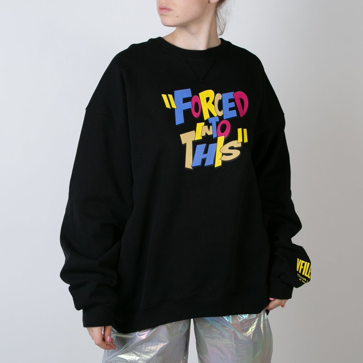 'Forced Into This' Crew Neck Sweater