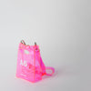 pink pvc bag at Secret Location by nana-nana