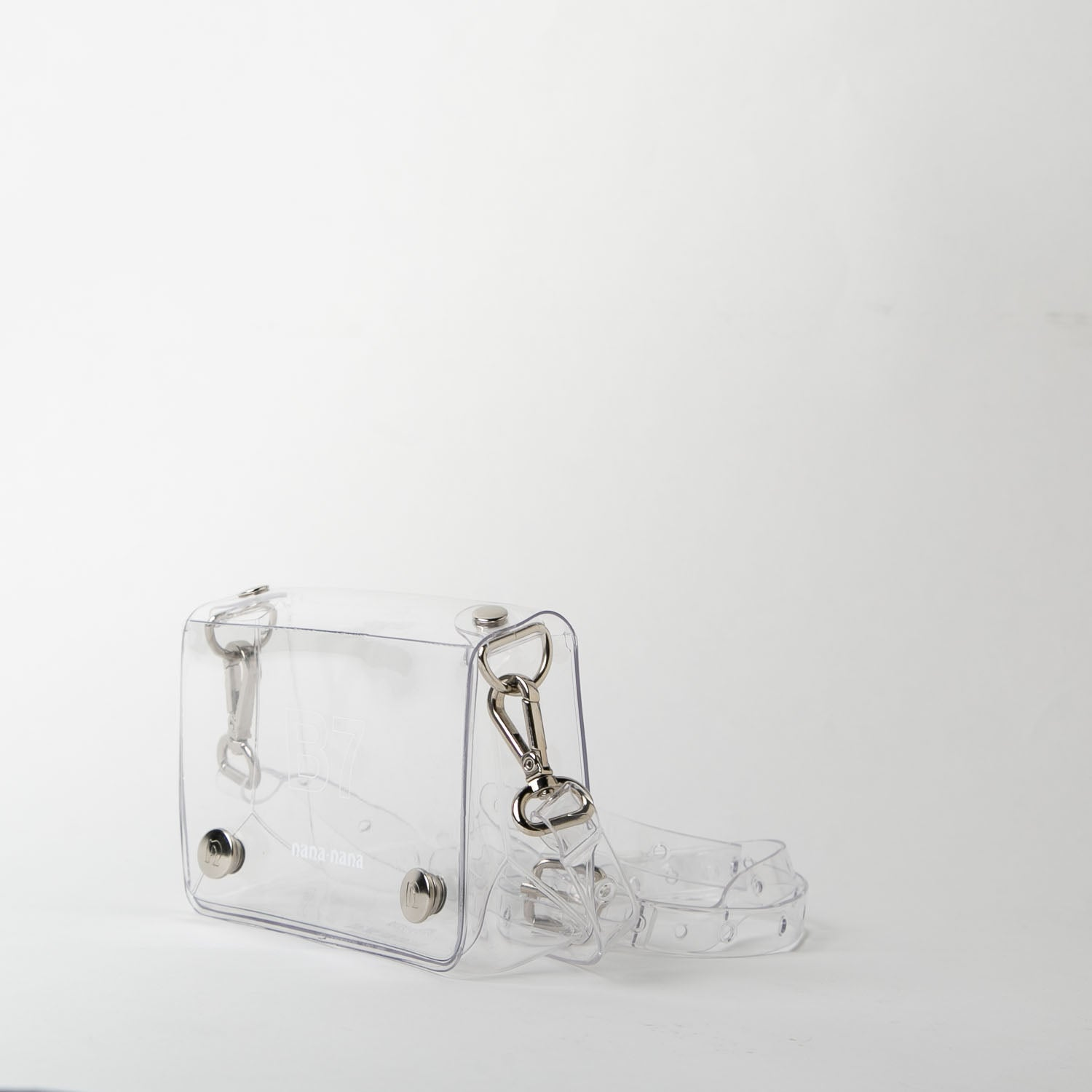 B7 clear pvc bag at Secret Location by nana-nana