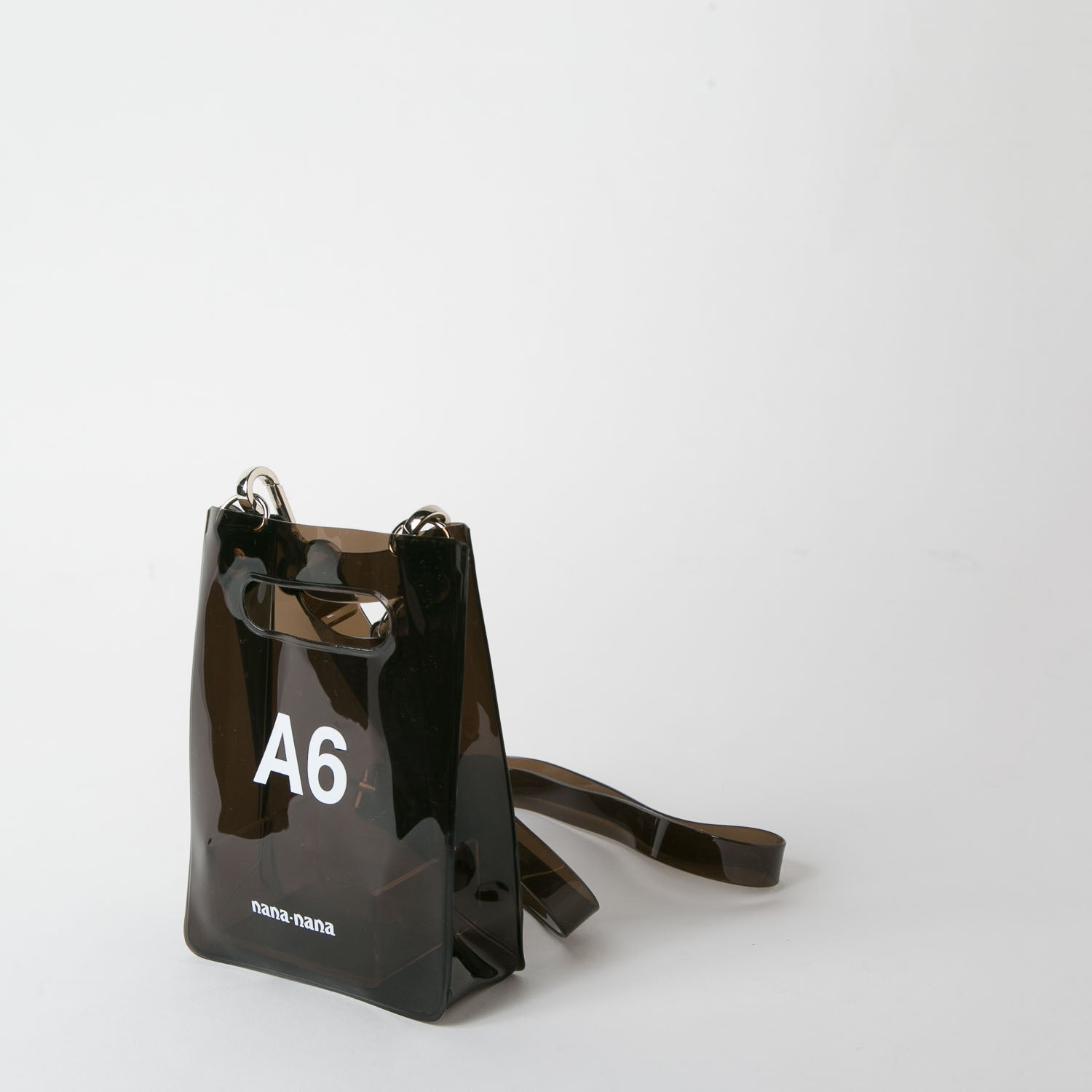 black pvc bag at Secret Location by nana-nana