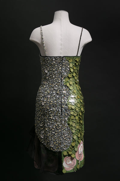 Fully Embellished Evening Dress