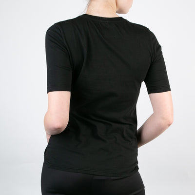 Basic womens t-shirt , black