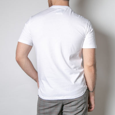 Basic mens t-shirt, white