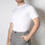 basic men's organic cotton white t-shirt by Secret Location