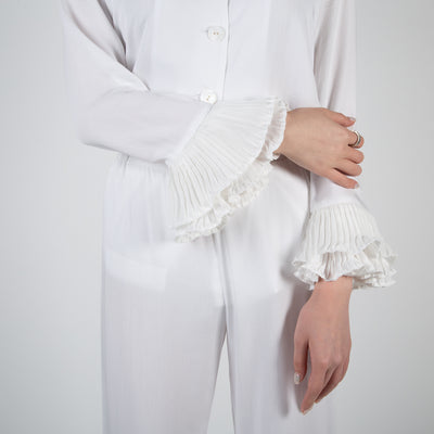 Arlekino Pajama Set, white
