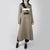 Beige herringbone coat with multiple straps by Ssheena at Secret Location
