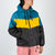 Multicoloured rubber rain jacket by Dim Mak at Secret Location