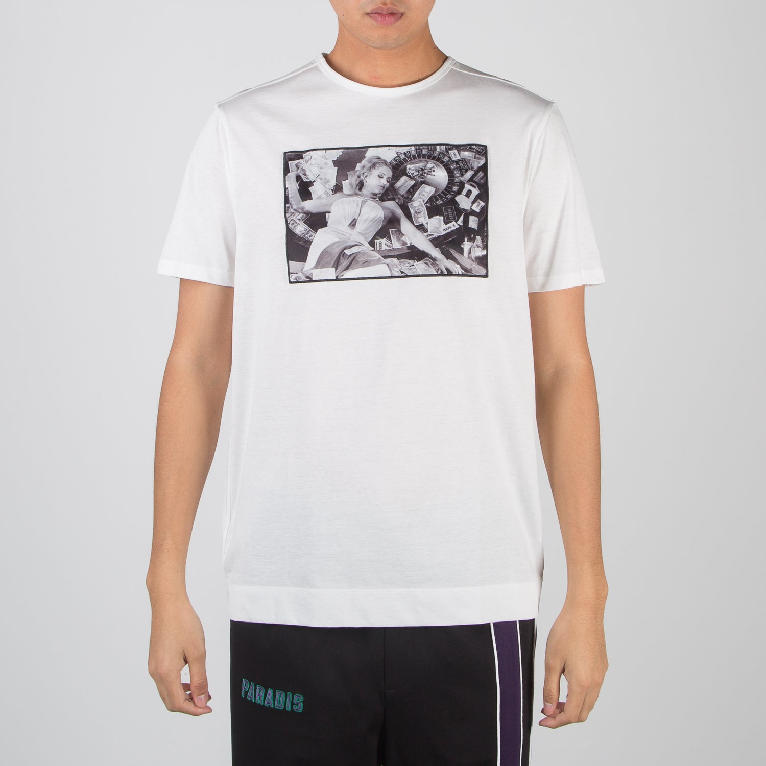 Casino Royale Terry O'Neill picture t-shirt in white by Limitato at Secret Location