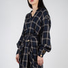 women's checkered long sleeve top by Mother of Pearl at Secret Location