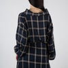 Long-Sleeve Low Neck Shirt